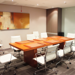 Conference Room _ One Global Place Office Unit For Sale