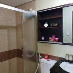 Toilet and Bath Two Bedrooms Condo For Sale in Fort Residences BGC