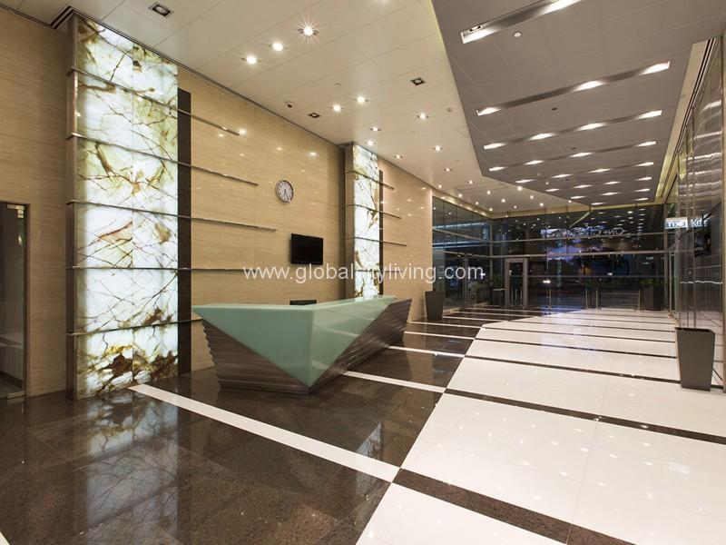 lobby one global place office space highend office for sale in bonifacio global city taguig