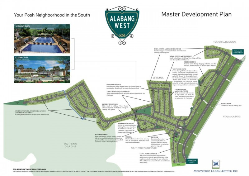 Alabang West-Map-lots-forsale-in-alabang-daanghari