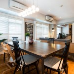 Dining Area One Serendra 3BR Condo For Sale in Bonifacio Global City