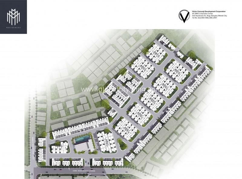 M-Residences-Site Development Plan-Townhouse-forsale-in-Taguig-City
