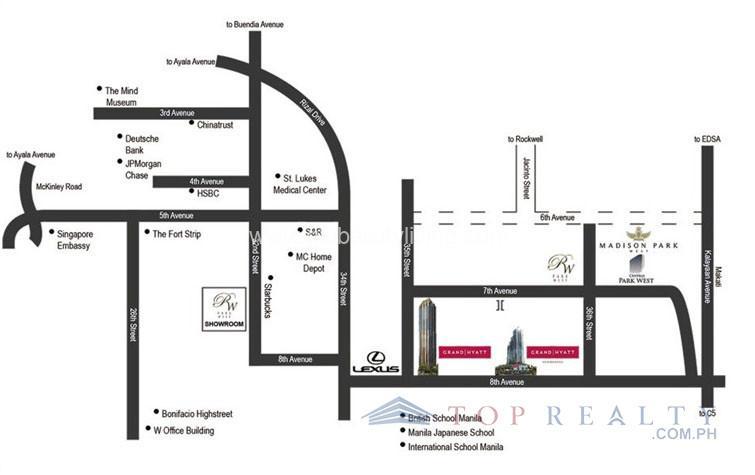 location-map grand hyatt