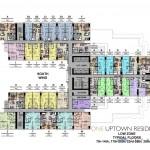 one uptown 2br floorplan