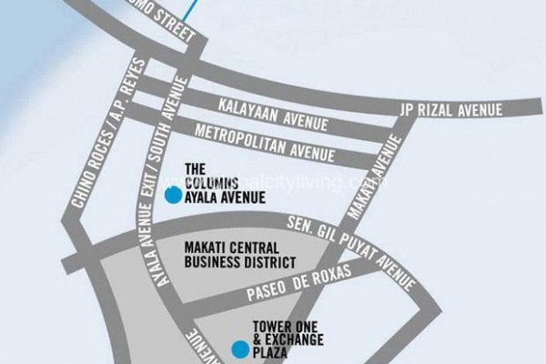 location map office space for sale the stiles circuit makati