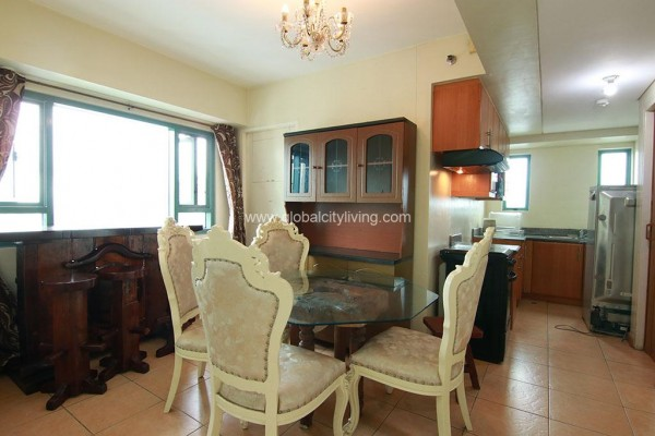 dining are 3br condo for sale in mckinley park residences bgc taguig city