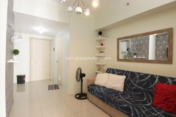 fully furnished 1br condo for sale in jazz residences bgc