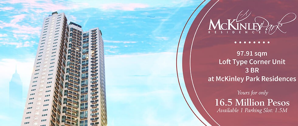 three bedrooms 3br condo for sale at mckinley park residences fort bonifacio global city taguig