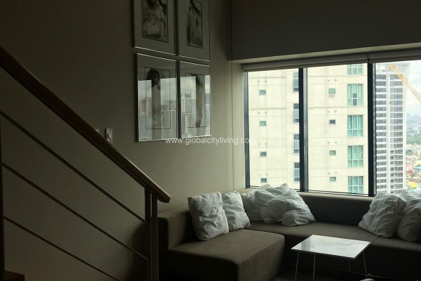 1br loft condo for sale at one rockwell east makati city