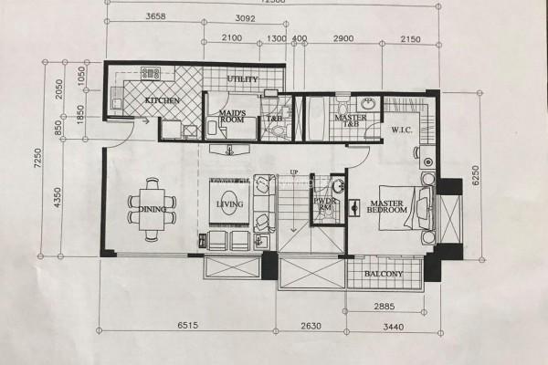 Mckinley Garden Villas Unit Layout Condo For Sale Mckinley Hill Fort Bonifacio