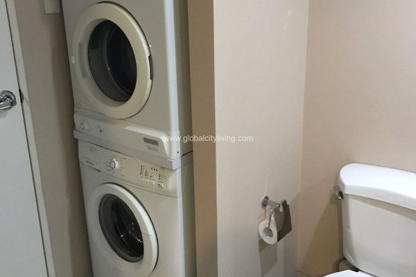bathroom 1br condo for sale at one rockwell west makati