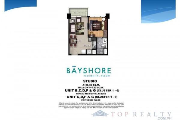 bayshore condo for sale in paranaque city layout