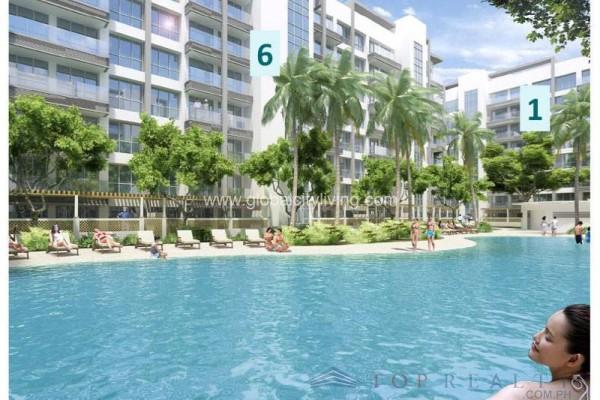 bayshore condo for sale in paranaque city layout amenity-pool