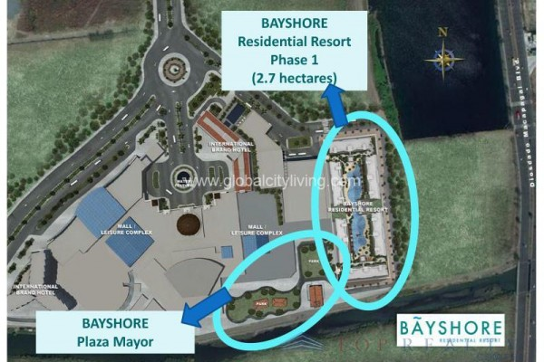 bayshore condo for sale in paranaque city layout developmenr-plan