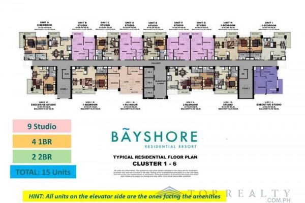bayshore condo for sale in paranaque city layout floor-plan