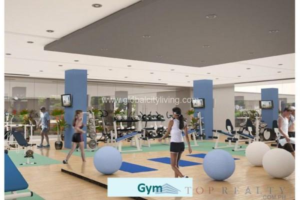 bayshore condo for sale in paranaque city layout gym