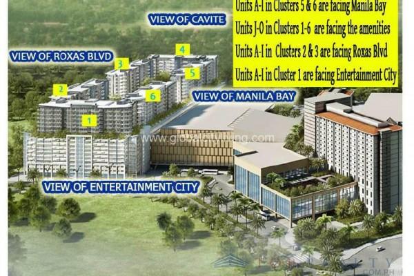 bayshore condo for sale in paranaque city layout views