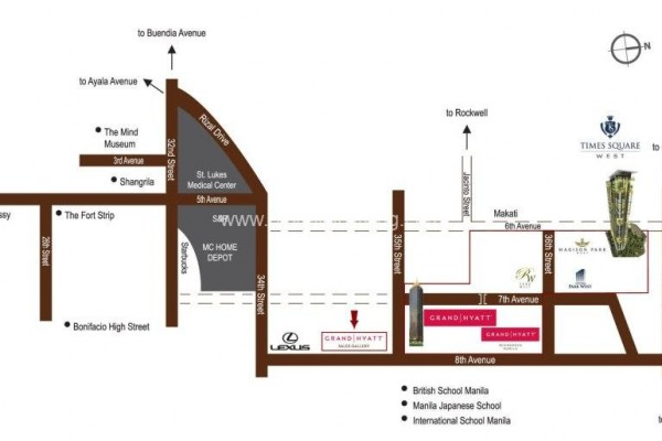 development plan madison parkwest condo for sale bgc