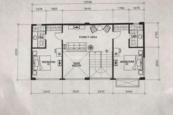 mckinley garden villas unit lay out 3br condo for sale fort bonifacio