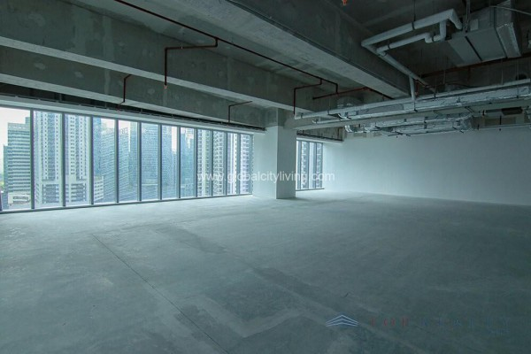 finance center bare office space for sale in fort bonifacio bgc