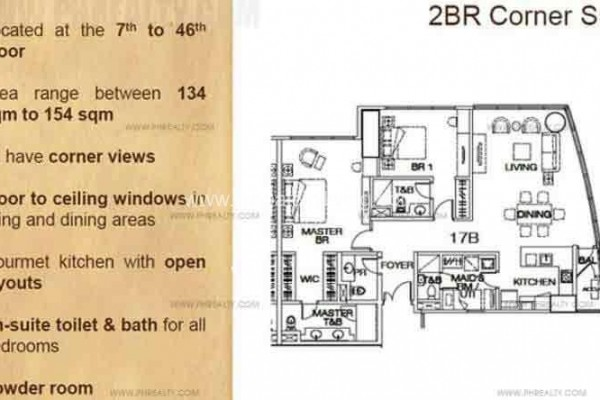 floor plan the suites condo for sale in bgc