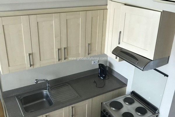 kitchen 1br condo for sale at one rockwell east makati city