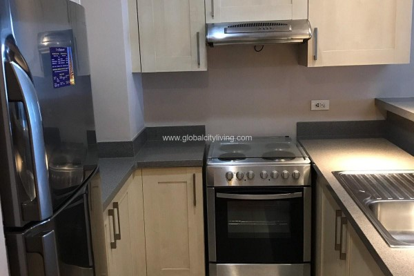 kitchen one bedroom 1br condo for sale at one rockwell west makati