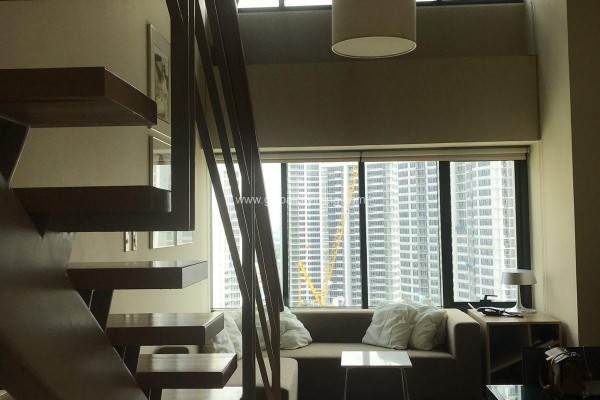 loft condo for sale at one rockwell east makati city
