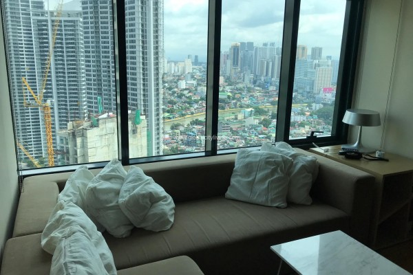one bedroom loft condo for sale at one rockwell east makati