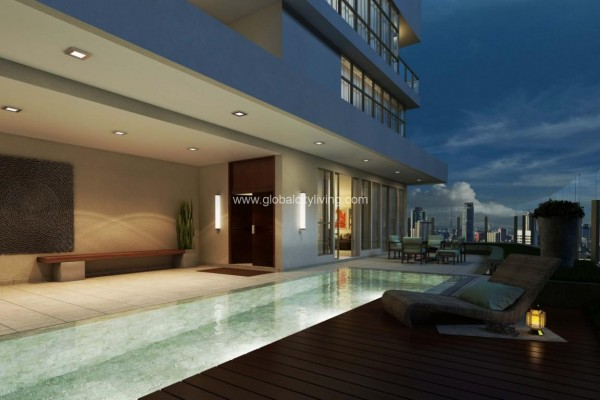 pool amenity suites condo for sale in bgc