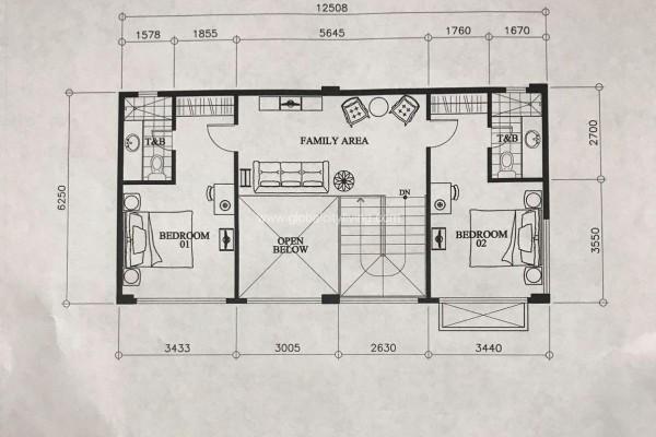 mckinley garden villas condo for sale layout