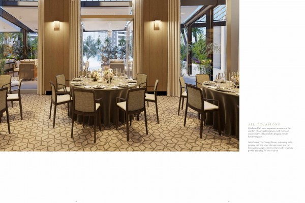 lobby aurelia residences preselling condo for sale in bonifacio global city