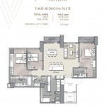 THREE-BEDROOM SUITE UNIT PLAN(1)