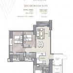 TWO-BEDROOM SUITE UNIT PLAN(1)