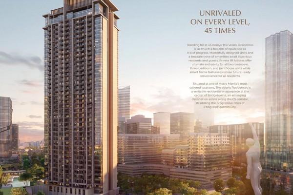 Velaris Residences Preselling Condominiums For Sale in Pasig City