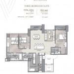 Velaris residences floor plans THREE-BEDROOM SUITE UNIT PLAN