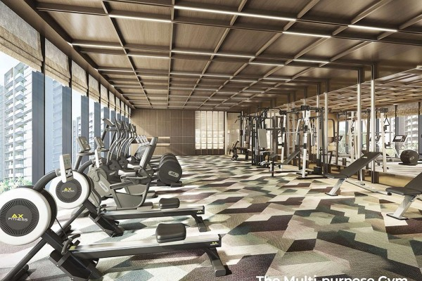 gym velaris residences preselling condominiums for sale in pasig city