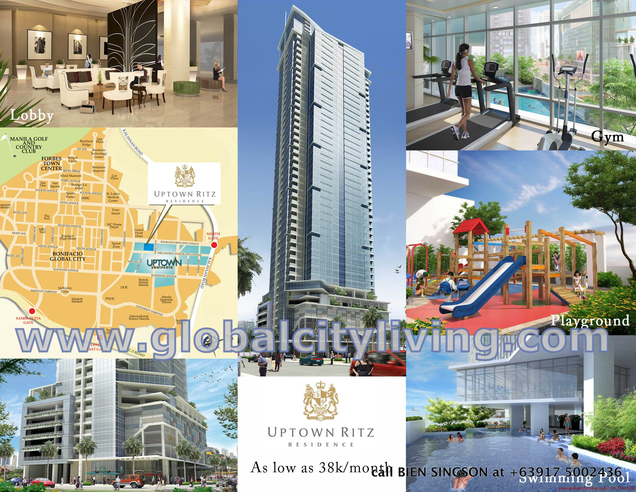 Uptown Ritz Residence in Global City