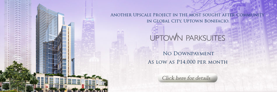Uptown Park suites panoramic with logo 950x315 pxb