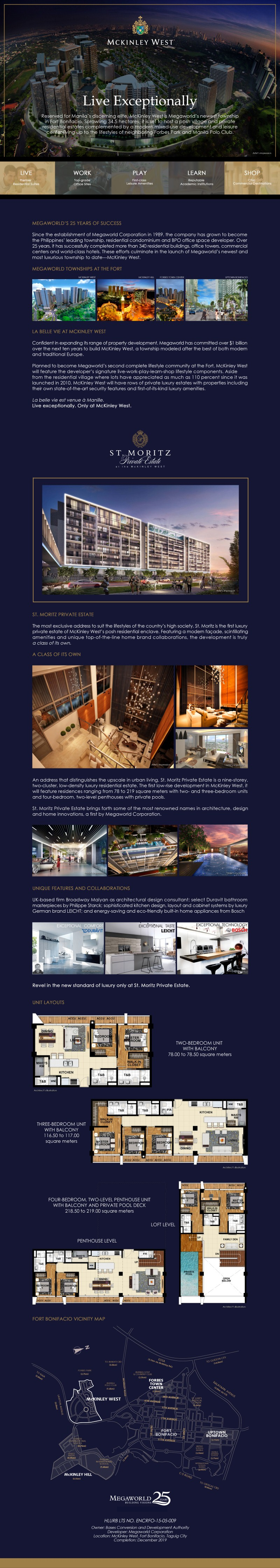 St. Moritz Private Estate by Megaworld