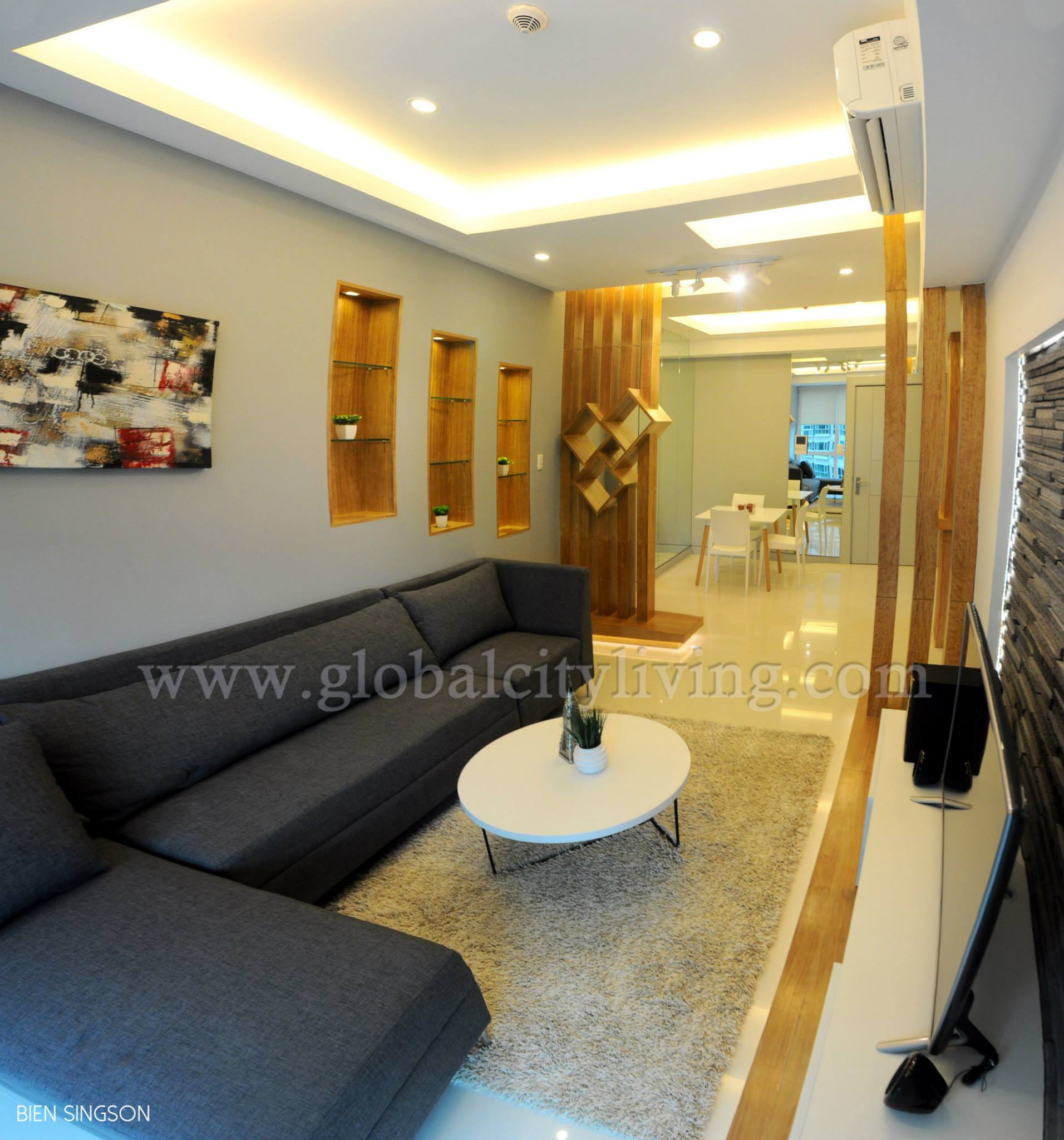 For RENT: Fully Furnished 1 Bedroom Condo Unit At 8 Forbes