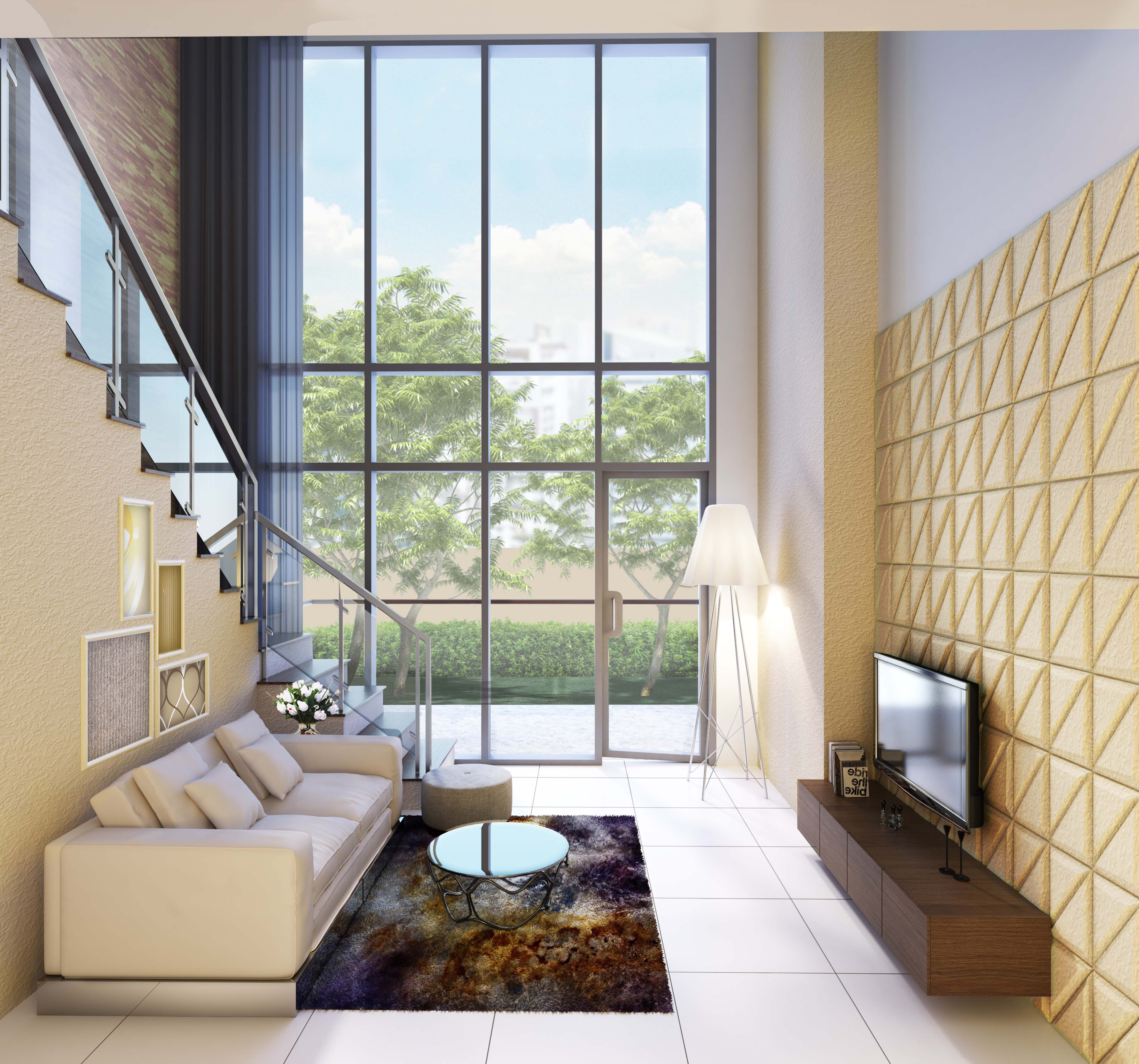 uptown-parksuites-tower-2-bgc-condos-for-sale-1br-loft-living